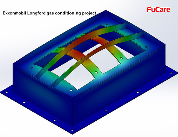 FuCare supported Exxonmobil Longford Gas Project with Customization Service